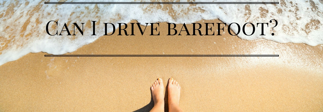 Can I Drive Without Shoes on in South Carolina?