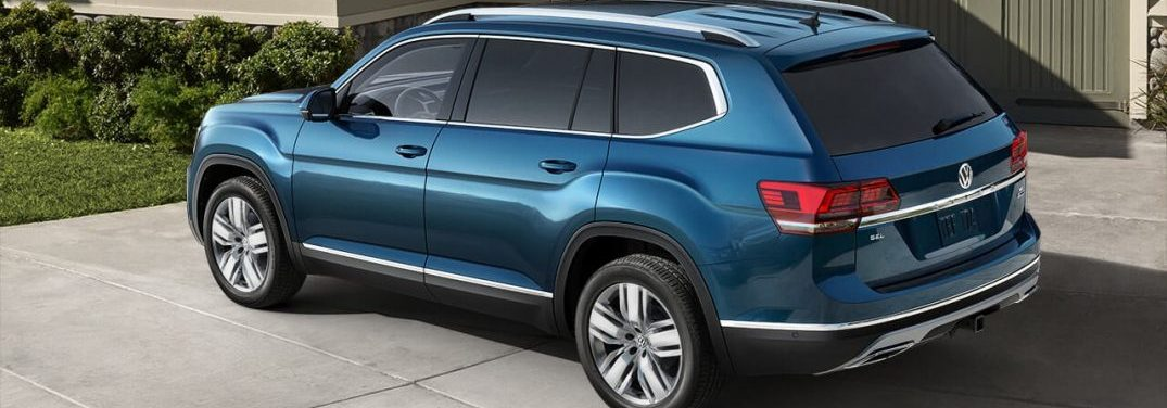 2018 Volkswagen Atlas in profile drivers side