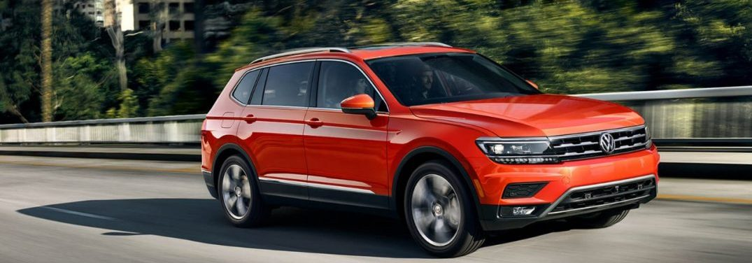 What technology features are available on the 2018 Volkswagen Tiguan?