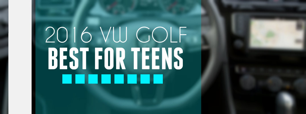 Volkswagen Golf Rated Best First Car for Teens