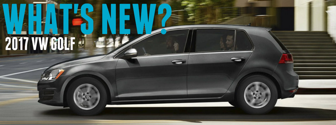 Changes And Updates On 2017 Volkswagen Golf