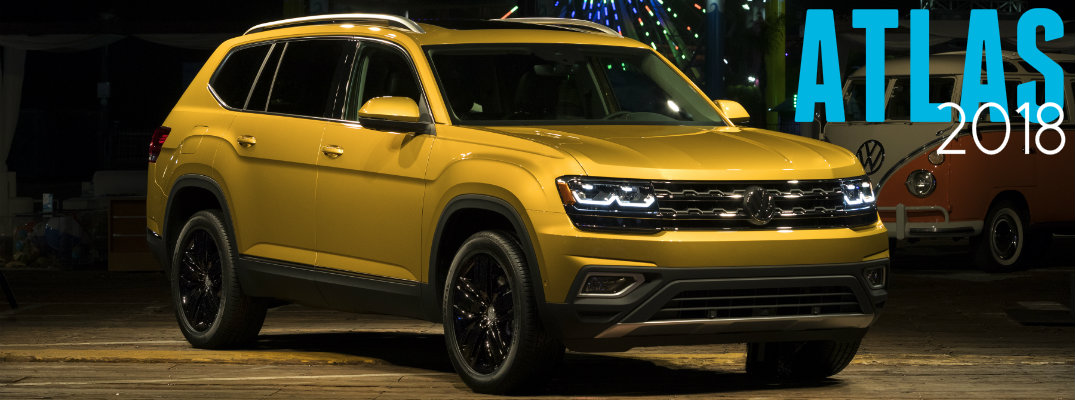 Is The 2018 Volkswagen Atlas Bigger Than The Touareg