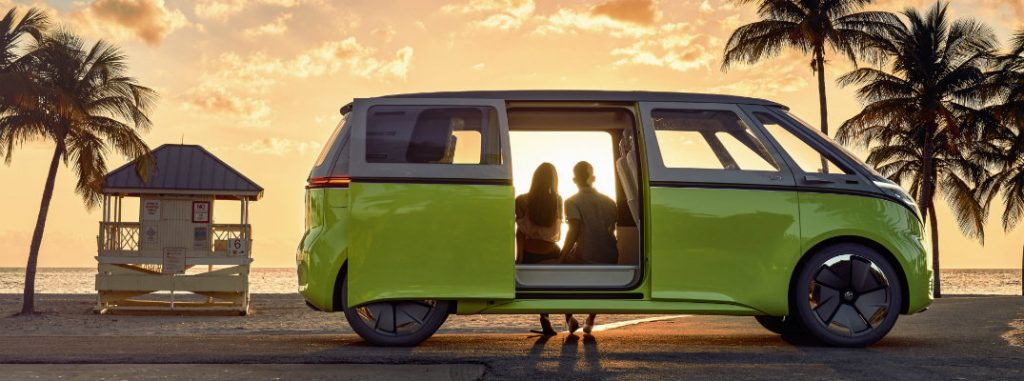 Introducing The Volkswagen I D Buzz Concept Electric Mpv