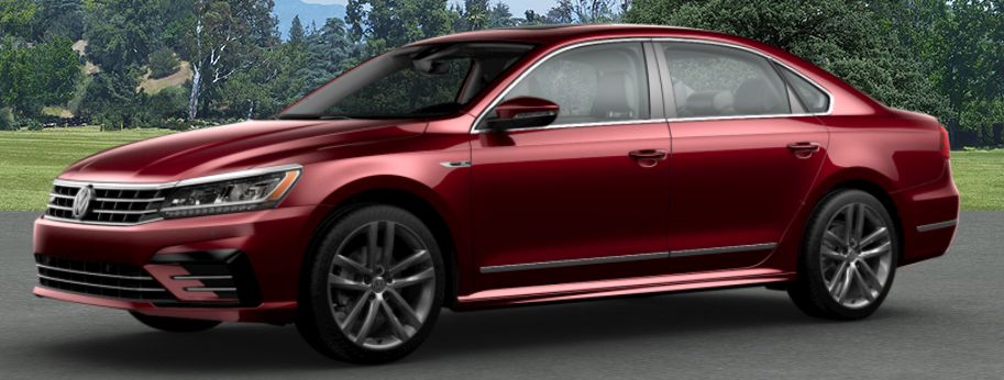 2019 Volkswagen Passat Fortana Red Metallic