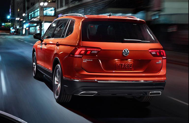 2019 Volkswagen Tiguan rear view