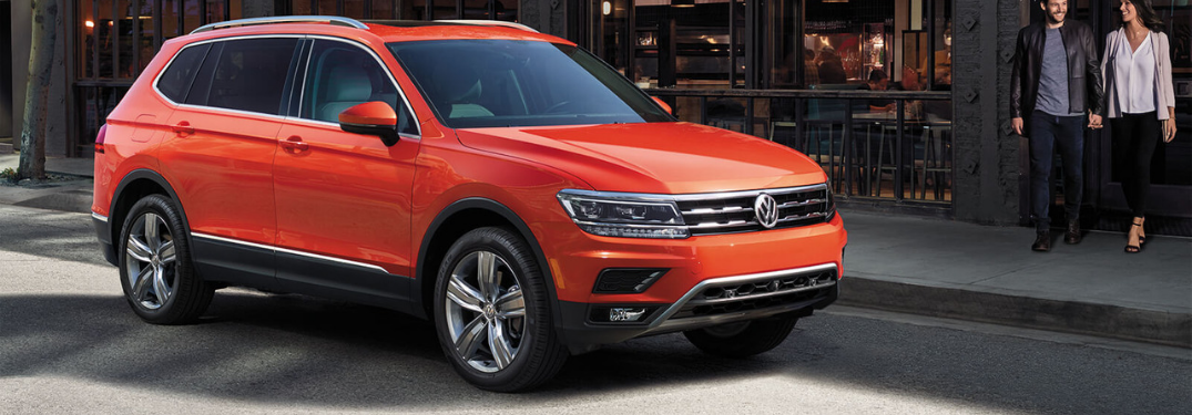 2019 Volkswagen Tiguan parked on the road