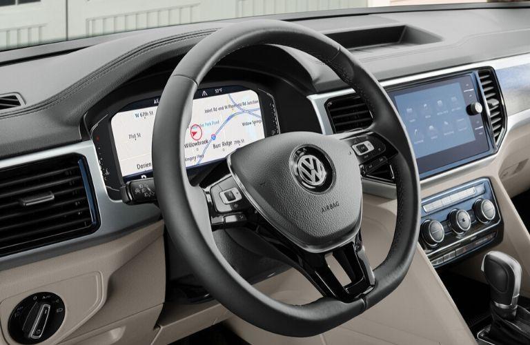 2020 Volkswagen Arteon dash and wheel view