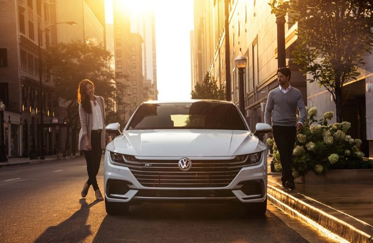 2020 Volkswagen Arteon parked outside front view