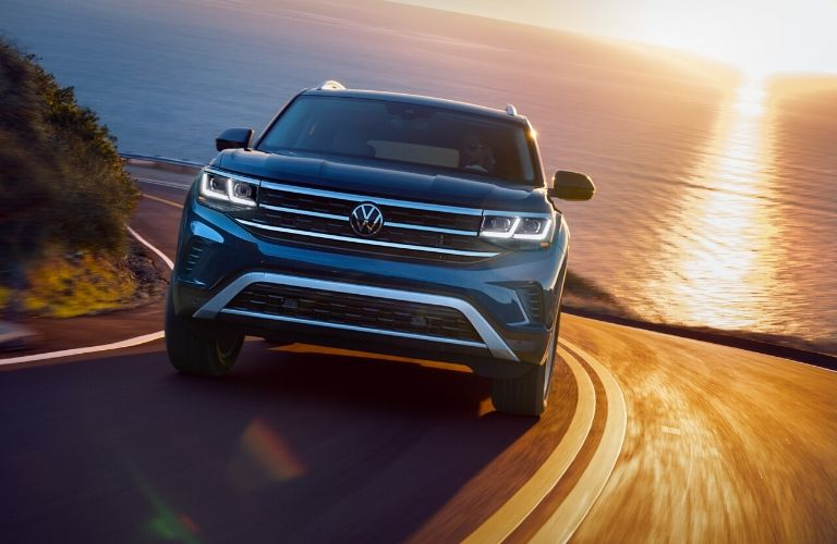 2021 Volkswagen Atlas driving front view