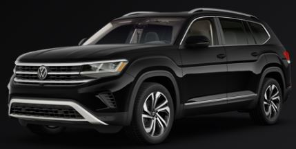 2021 Volkswagen Atlas Deep Black Pearl