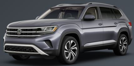 2021 Volkswagen Atlas Platinum Gray Metallic