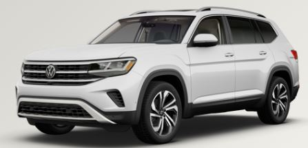 2021 Volkswagen Atlas Pure White