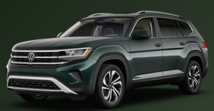 2021 Volkswagen Atlas Racing Green