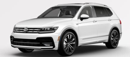 2020 Volkswagen Tiguan Pure White