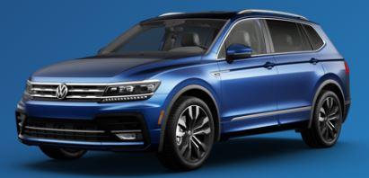 2020 Volkswagen Tiguan Silk Blue Metallic