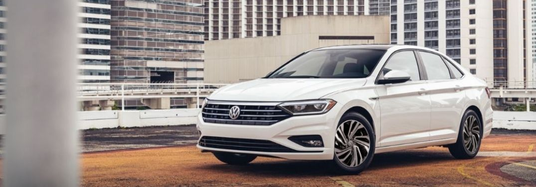 2021 Volkswagen Jetta parked front view