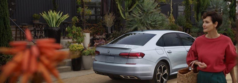 2021 Volkswagen Passat parked rear view