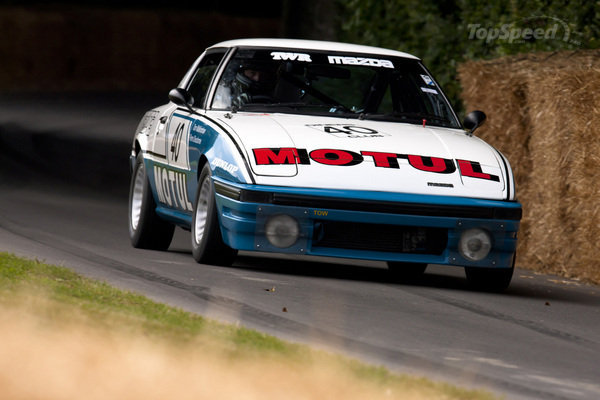1981 Mazda RX-7 No  40 MOTUL Race Car