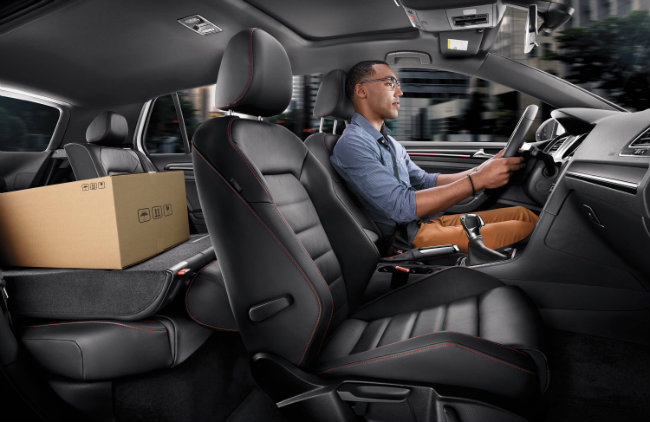 2016 Volkswagen Golf GTI Interior Seating And Cargo Space