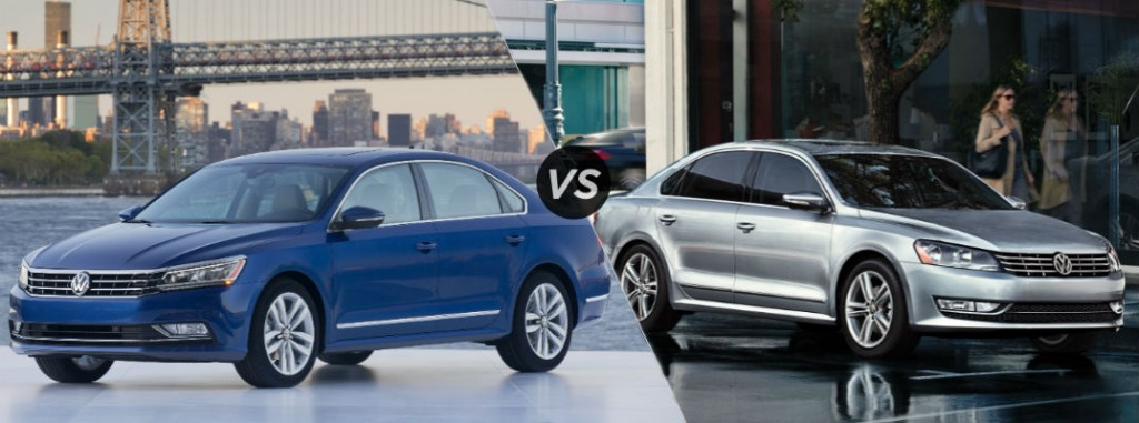 Differences Between 2016 and 2015 Volkswagen Passat