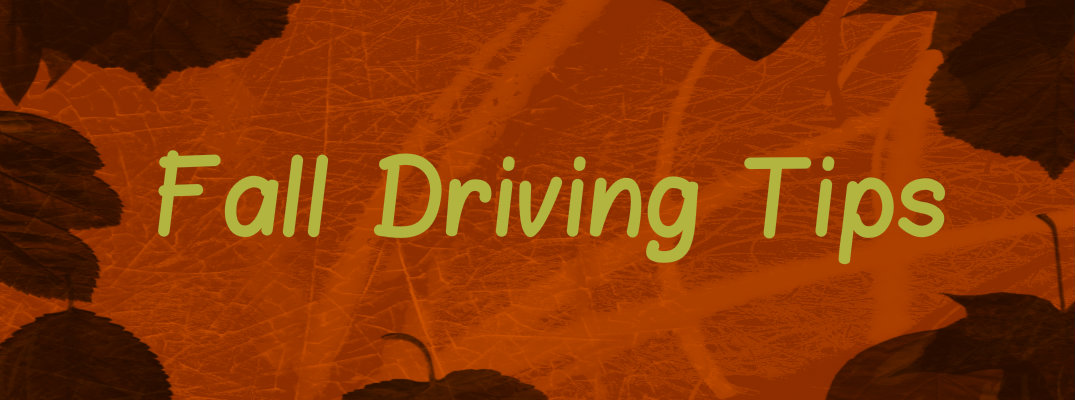 fall driving safety tips  jersey