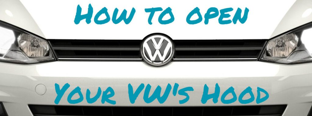 Where to Find the Volkswagen Hood Release Lever