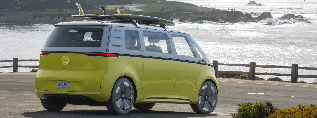 Volkswagen I D Buzz The Concept Car In Pebble Beach Video