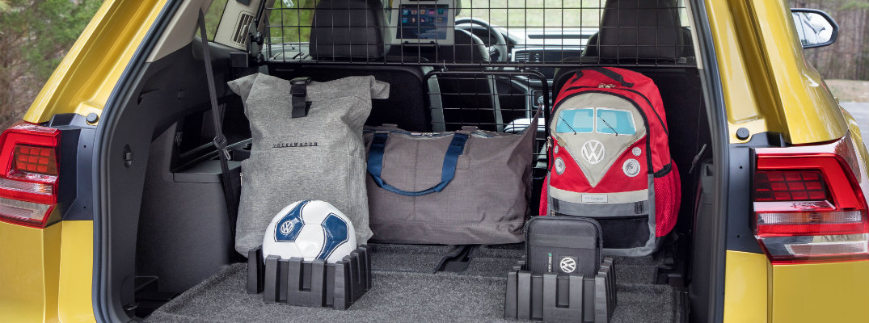 knowing   volkswagen atlas trunk storage video
