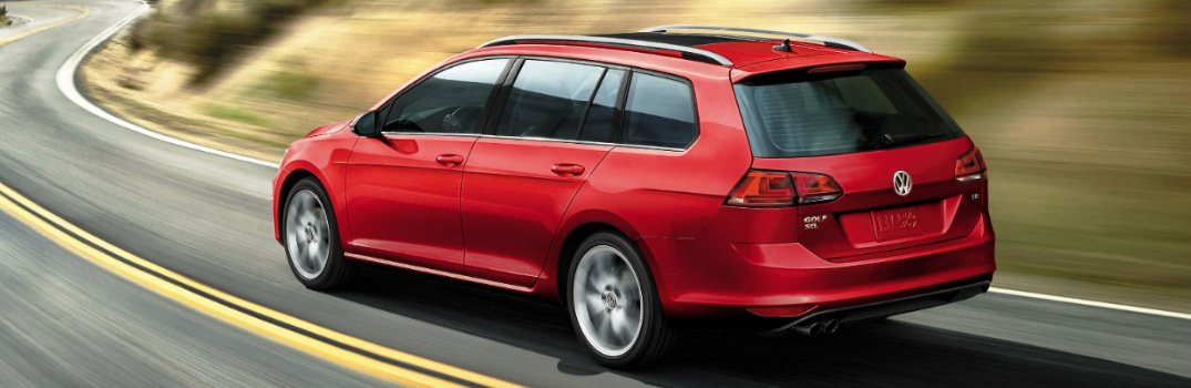 What is the cargo capacity of the 2017 VW Golf SportWagen?