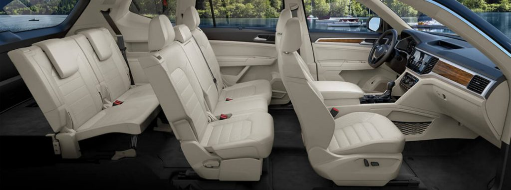 Highlander Captains Chairs >> 2018 VW Atlas Interior Dimensions - Capistrano Volkswagen