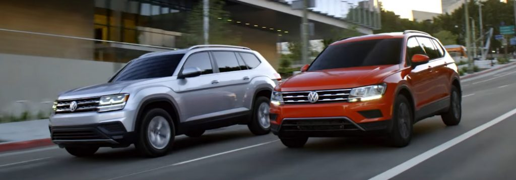 vw atlas   vw tiguan volkswagen suv family video