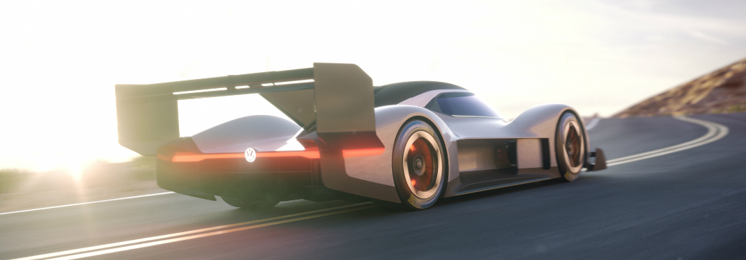 Drawing of the VW ID R Pikes Peak Race Car