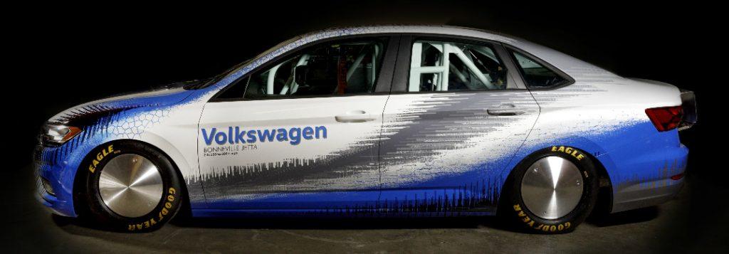 Corolla Vs Civic 2017 >> 2019 VW Jetta Speed Record Attempt at Bonneville Speed Week