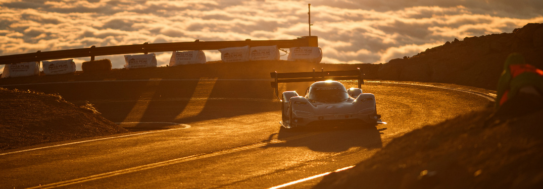How did the VW I.D. R finish for the Pikes Peak International Hill Climb?