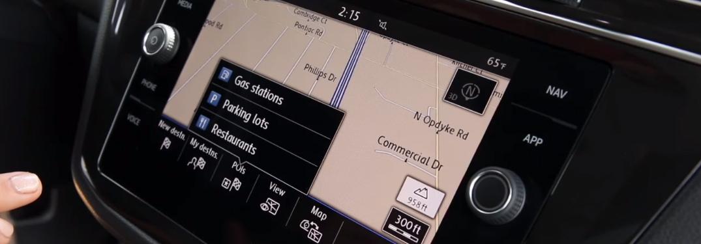 Points of Interest on the Volkswagen Navigation System