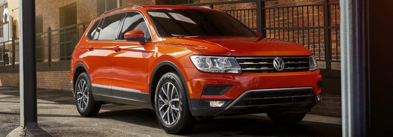 2019 Volkswagen Tiguan interior cargo volume