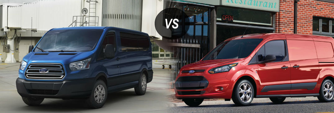 Ford Transit Vs Ford Transit Connect