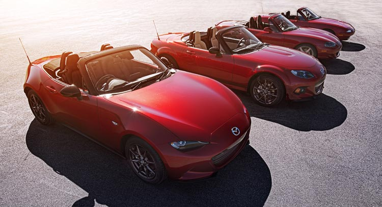2016 mazda mx 5 models arrive in u s. Black Bedroom Furniture Sets. Home Design Ideas