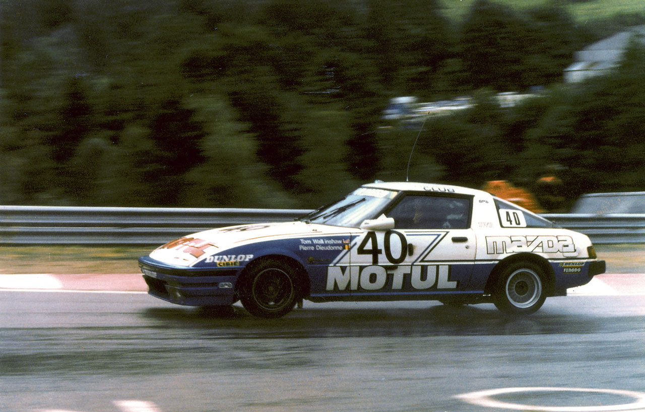 Remembering the 1981 Spa 24 Hours Winner: The Mazda RX-7