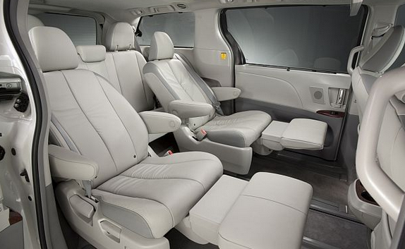 Toyota Sienna Will Guide You To Adventure Land