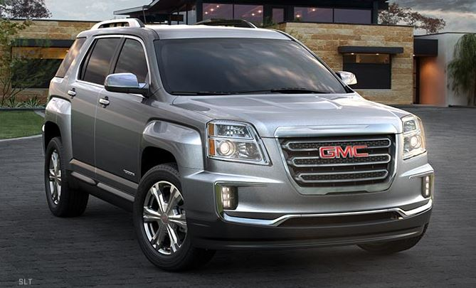 Gmc Canyon All Terrain >> Trim Levels And Features Of The 2017 GMC Terrain - Cardinale GMC