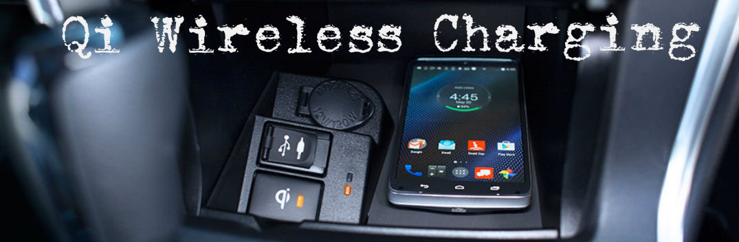 toyota qi wireless charging feature
