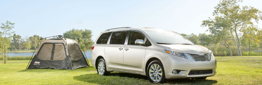2016 toyota sienna camping