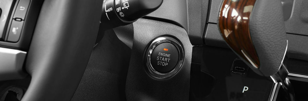 toyota push button start