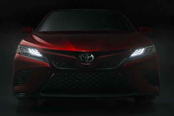Front of the 2018 Toyota Camry