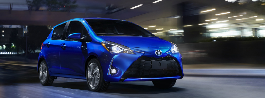 New Features for the 2018 Toyota Yaris