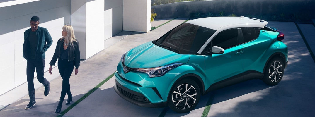 Color Options for the 2018 Toyota C-HR