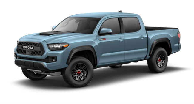 2017 Toyota Tacoma Towing Capacity >> What are the color options for the 2018 Toyota Tacoma?
