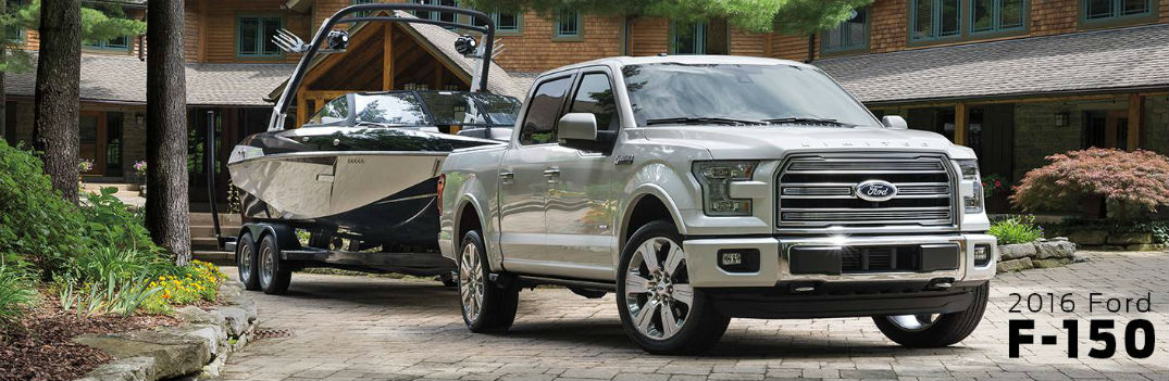 2016 ford f-150 towing payload