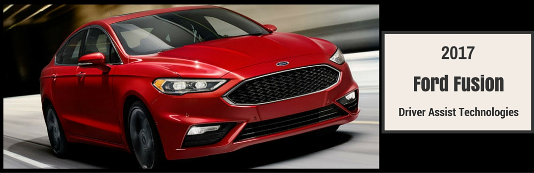 2017 ford fusion exterior red driver assist technologies